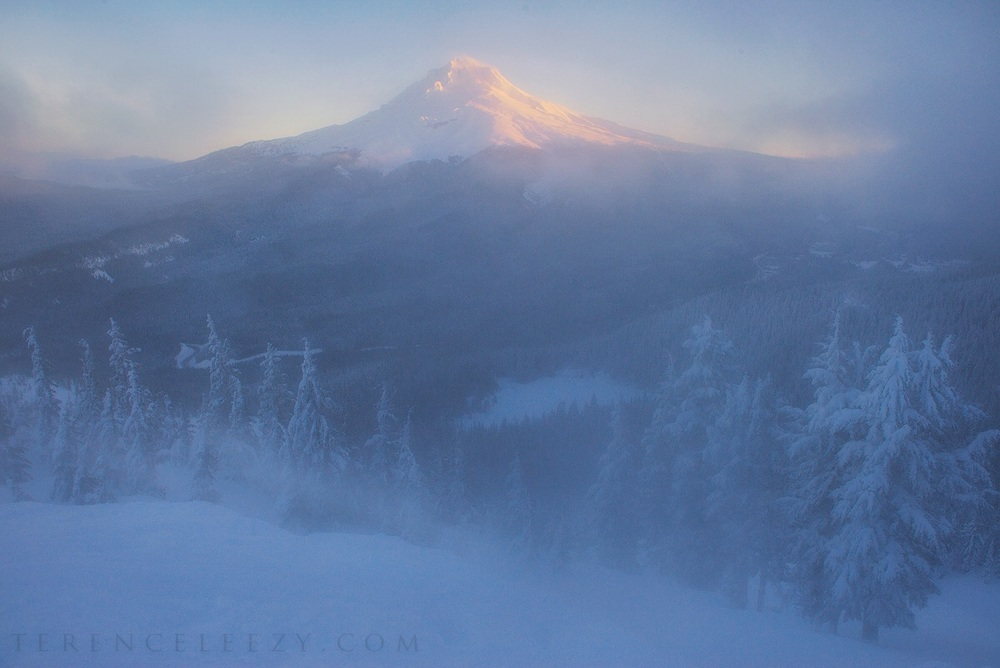 Mount Hood from Tom Dick and Harry Mountain.