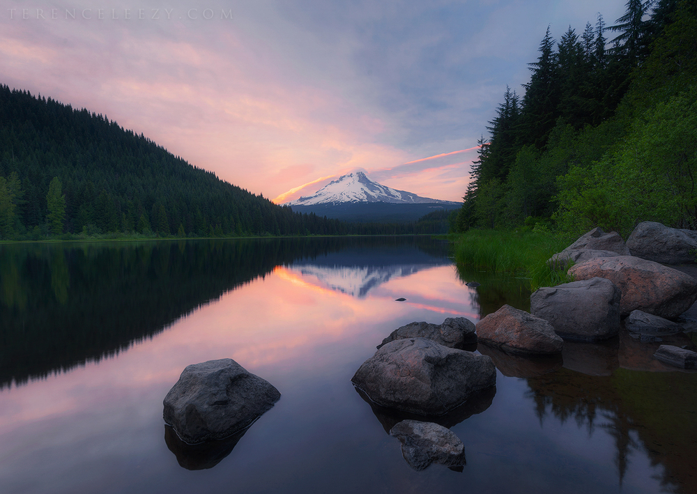 View from Trillium Lake