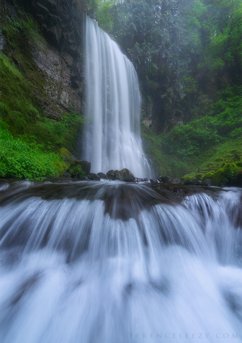 Upper Bridal Falls, Oregon