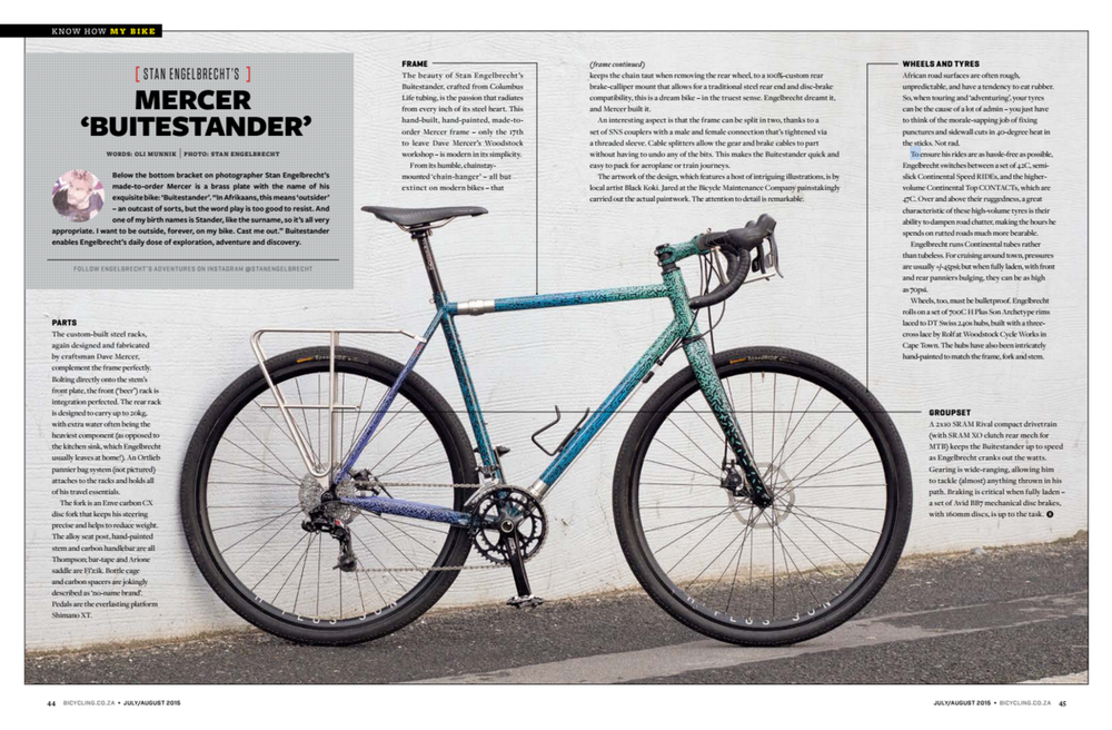 Bicycle South Africa Feature