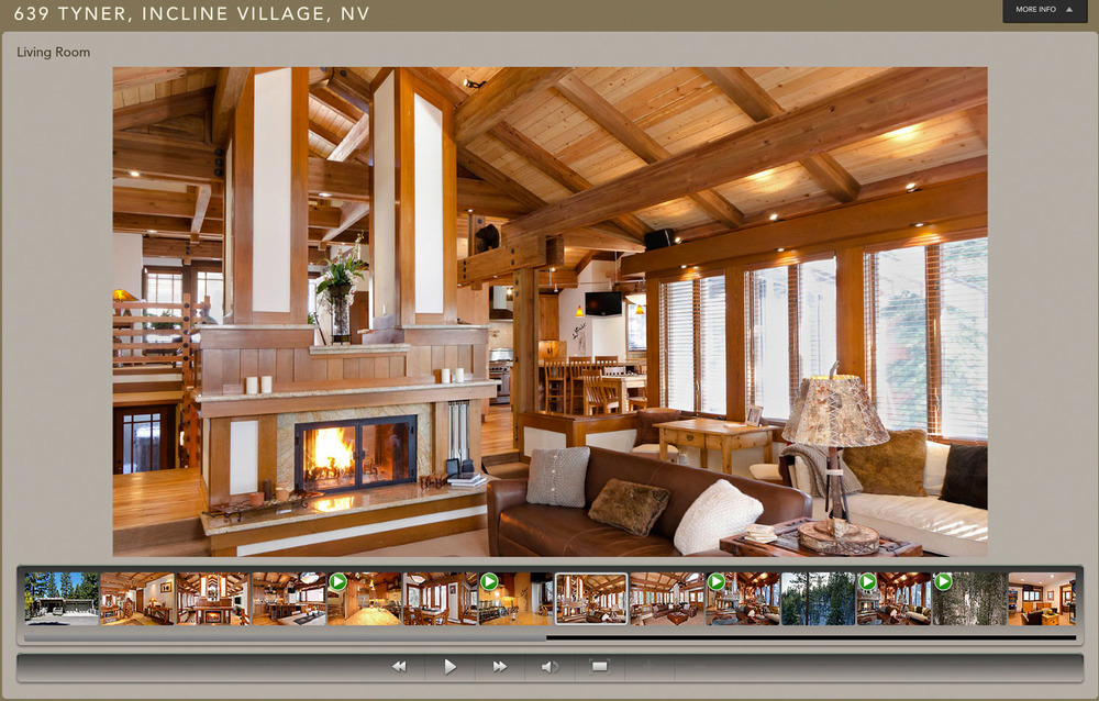 VIRTUAL TOUR WITH INTEGRATED VIDEO CLIPS