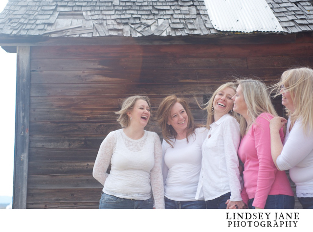 The last blog I did... FIVE amazing girlfriends. What a fun shoot!
