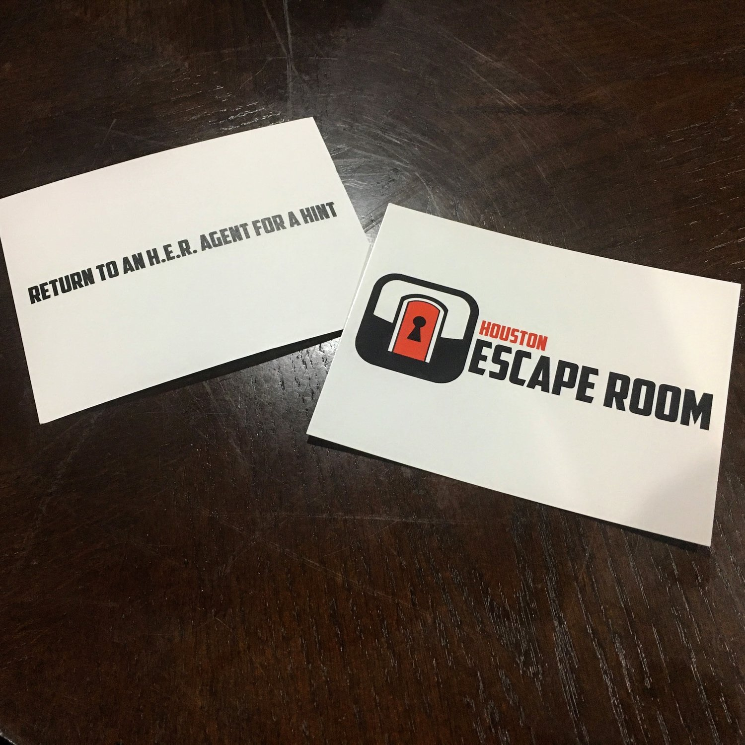 Houston escape room can you escape the room in time majordomo musings a hint on hints reheart Images