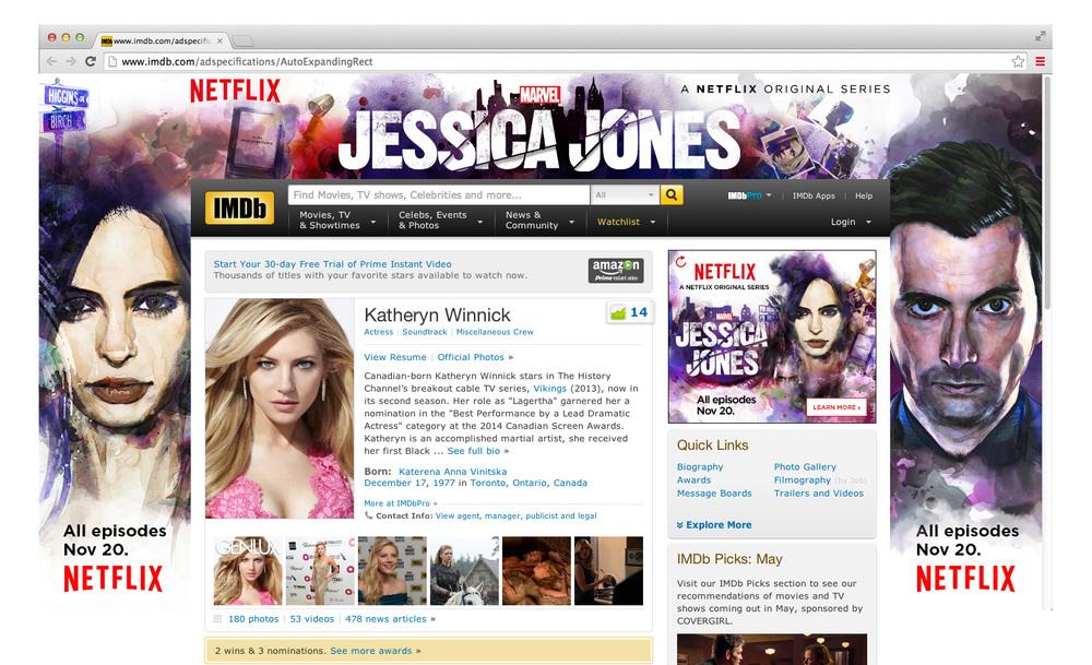 Jessica Jones IMDB Skin / Push Down ad part 3