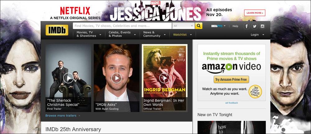 Jessica Jones IMDB Skin/Push Down ad part 1
