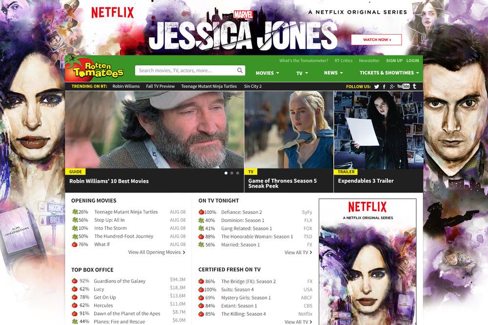 Jessica Jones Rotten Tomatoes Skin