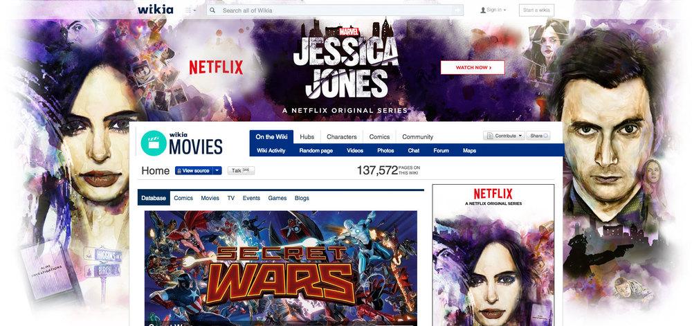 Jessica Jones Wiki Skin / ad