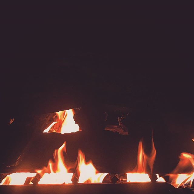 as the year dies down the unknown of the future creeps in. #merrychristmas #whatsnext #creep #creeps #future #thefuture #unknown #die #year #yearend #endoftheyear #endof2016 #2016 #fire #fireplace #warm #warmth #wood #woodburning #dark #darkness #light #flames #flame #homesweethome #home #sterlingheights #michigan