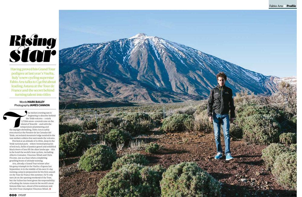 Fabio Aru - Cyclist Magazine