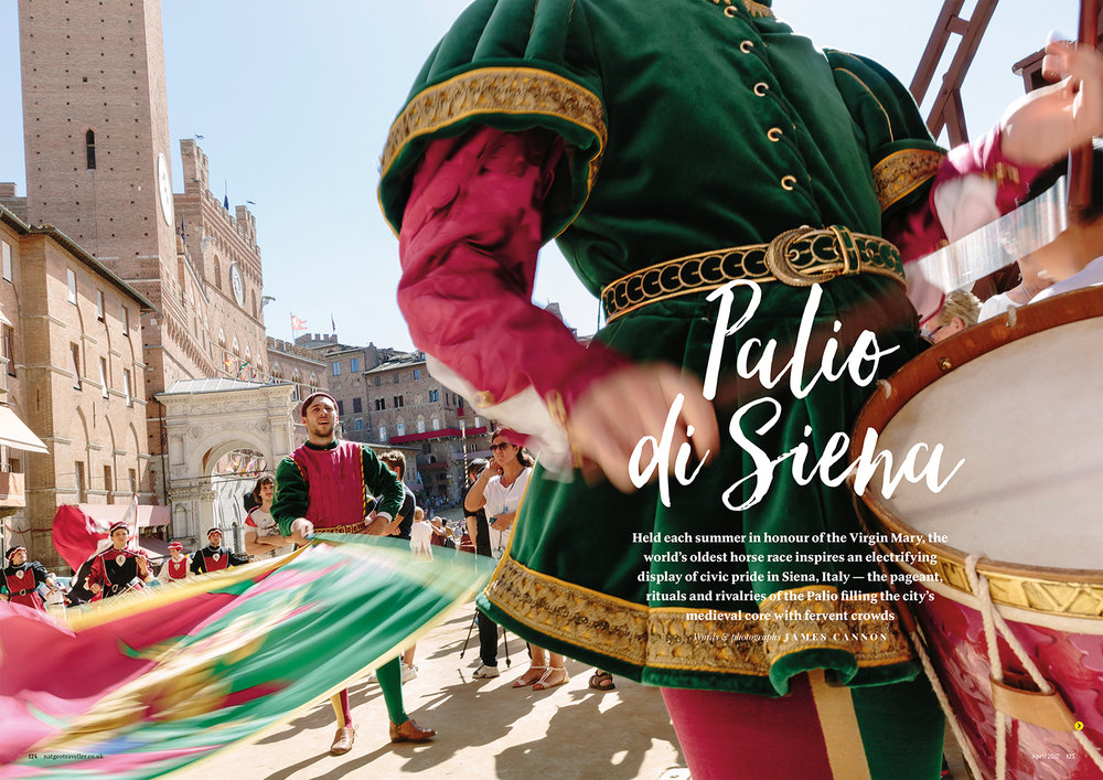 Inside a Contrada at the Palio, Siena - [National Geographic Traveller]