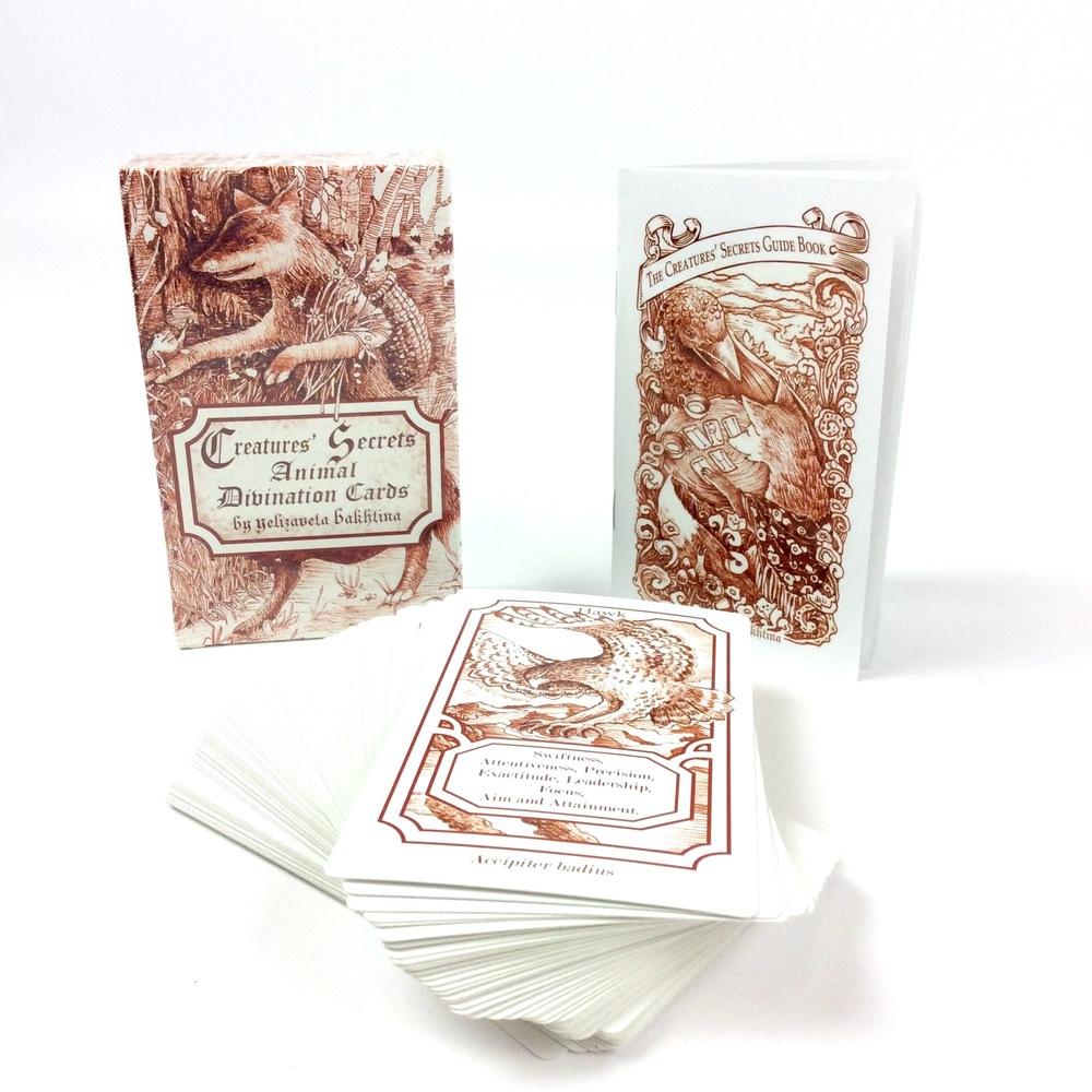 Creatures' Secrets Animal Divination Cards, Bakhtina, Veta