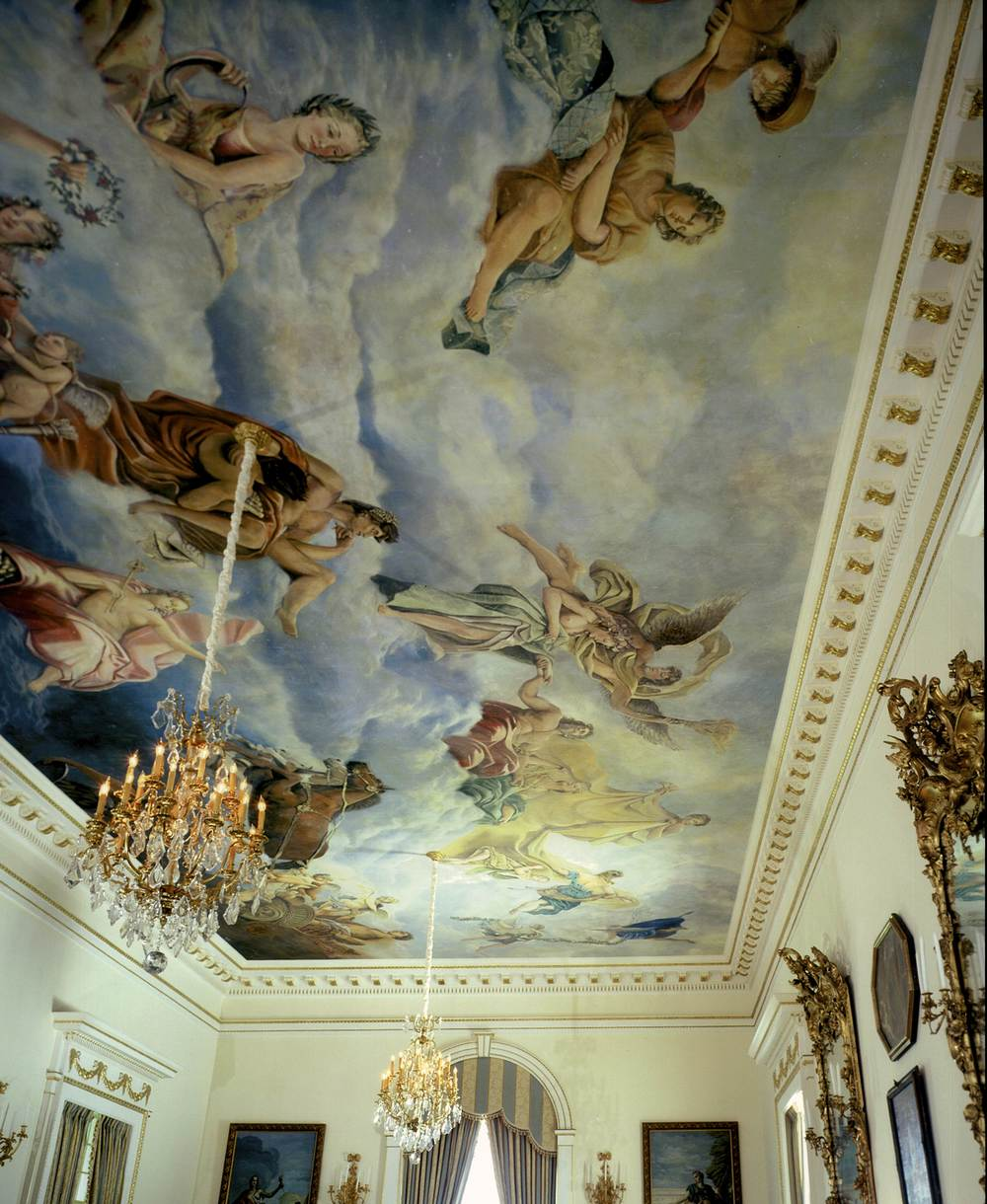Awesome Ceiling Mural U0026nbsp ...