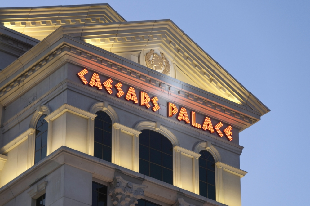 caesars palace artist