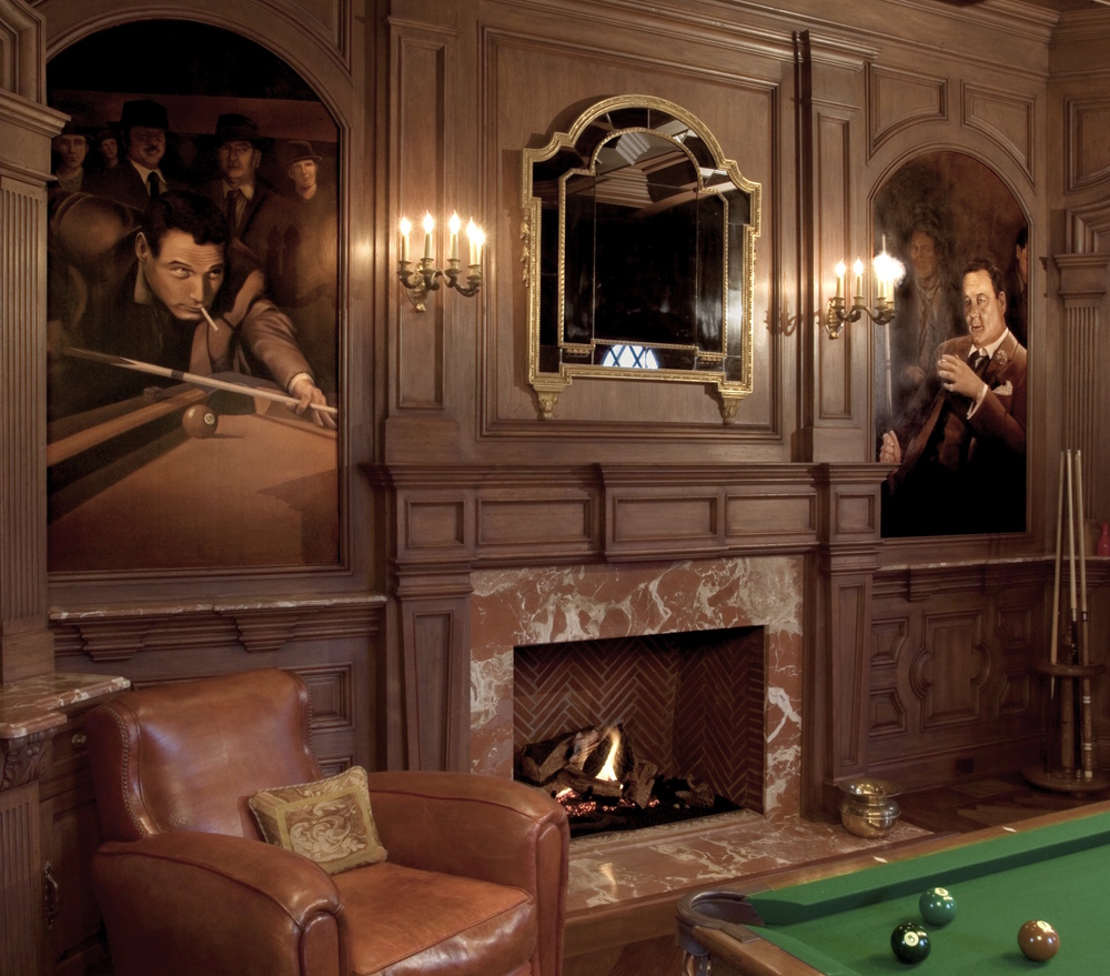 Billiard Room Mural