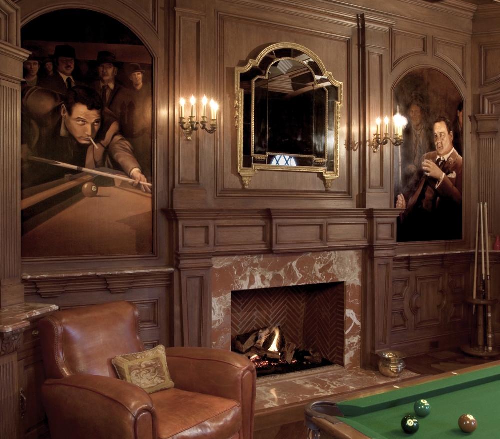Billiard Room Mural