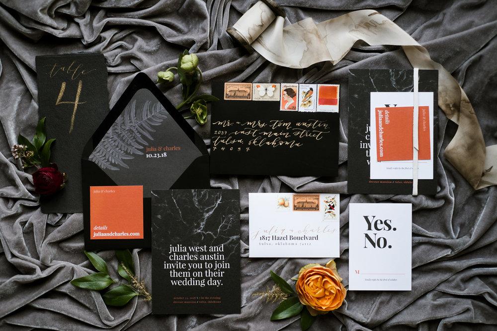laurelandmarie-moody-elegant-wedding-invitations