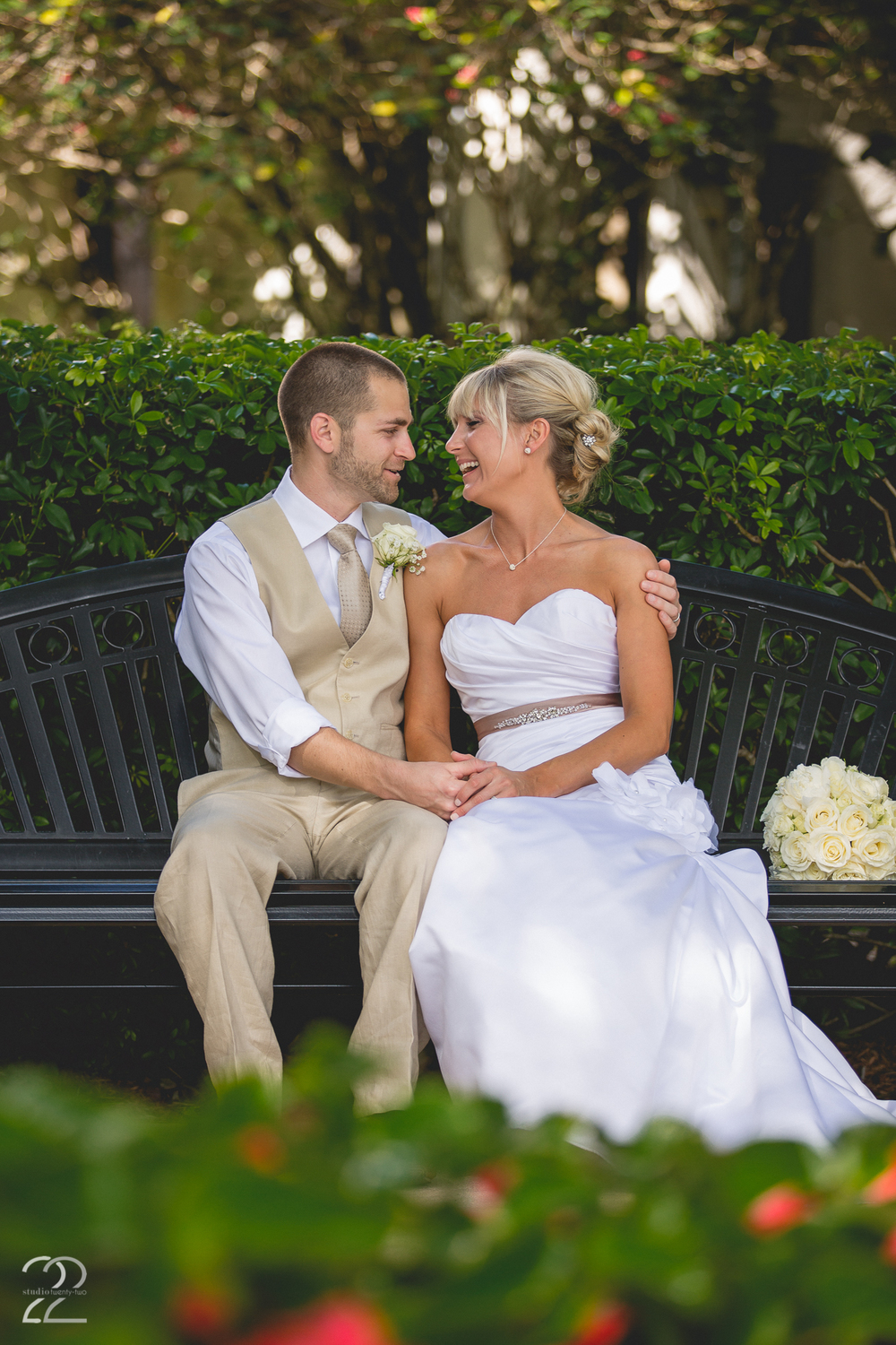 Outdoor Wedding Photos Florida