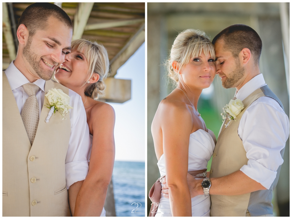Naples Pier Wedding Photography