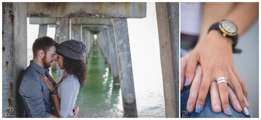 Gulf Coast Engagement Photography