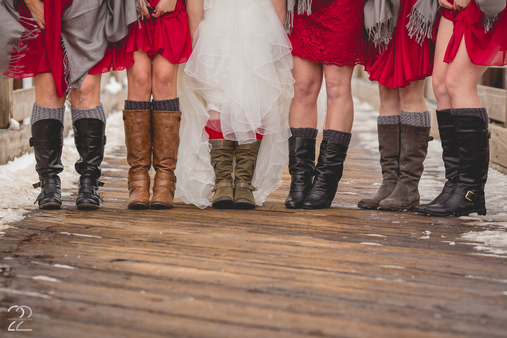 Phoenix Park Winter Wedding