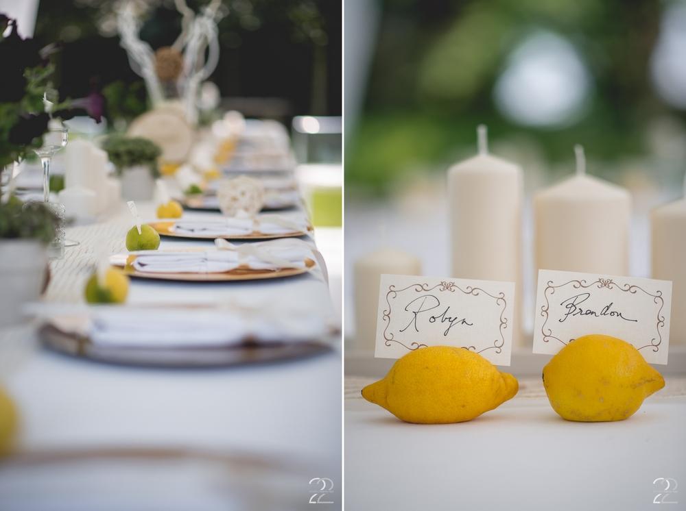 Destination Wedding Reception Inspiration