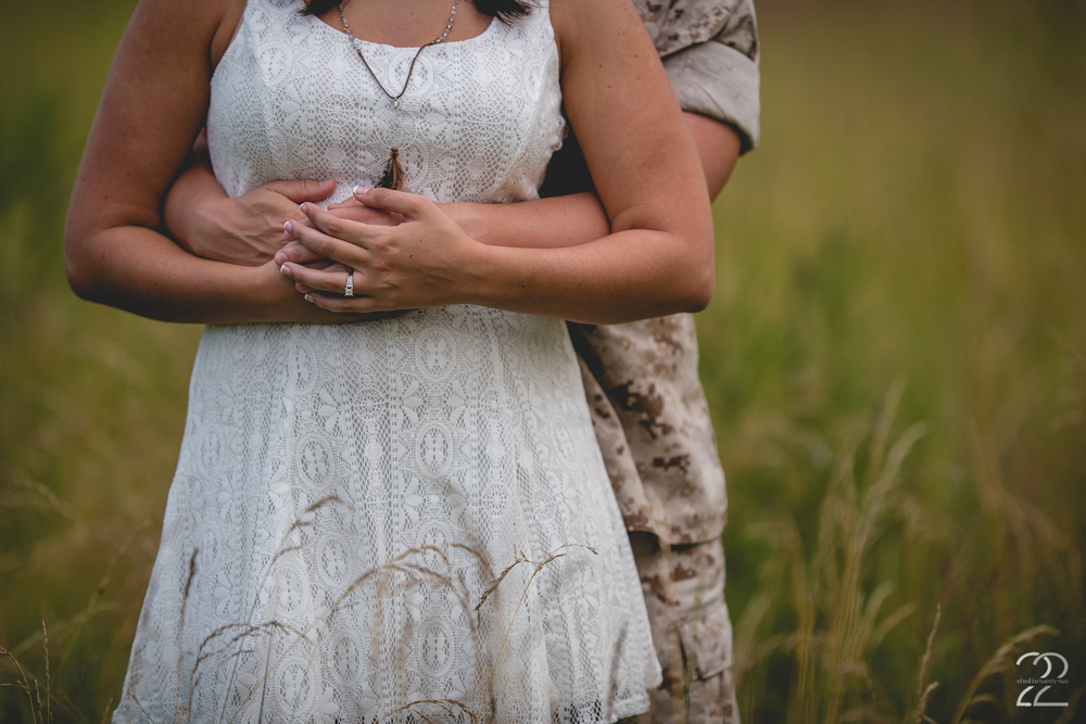 Marine Engagement Photos