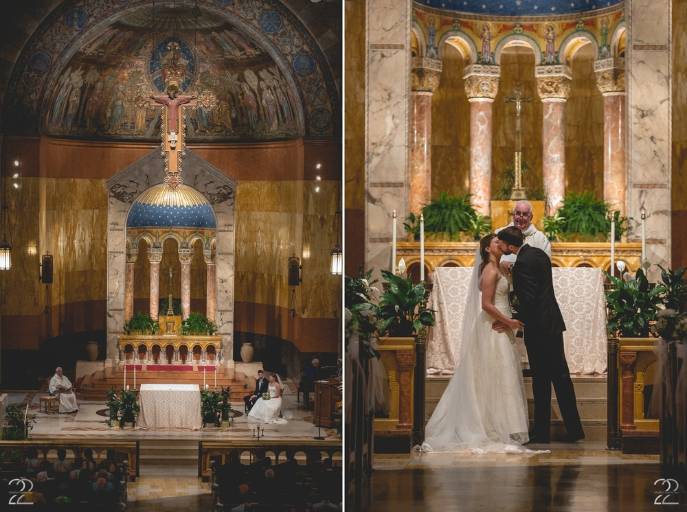 Saint William Catholic Church Wedding