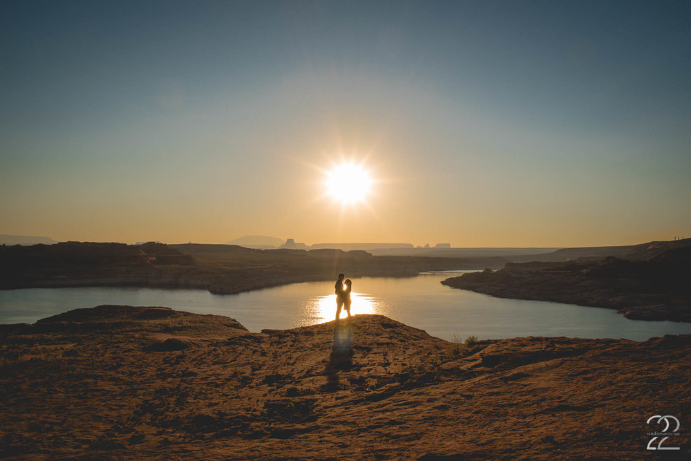 Lake Powell Engagement Photos