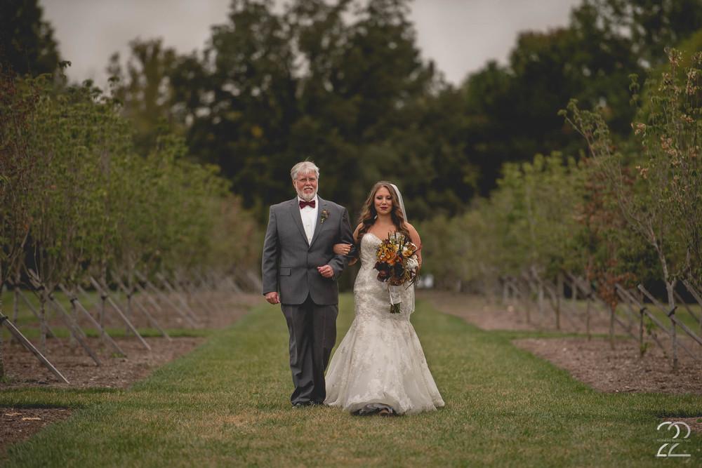 Cox Arboretum Wedding