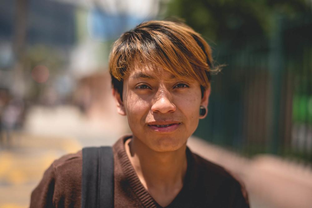 Quito Ecuador Teen