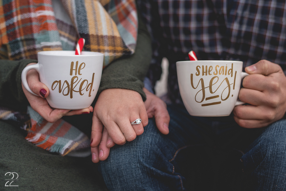 Custom Engagement Mugs