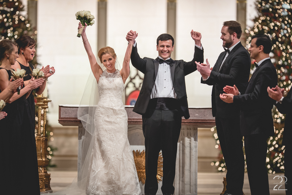 Cathedral of Assumption Wedding
