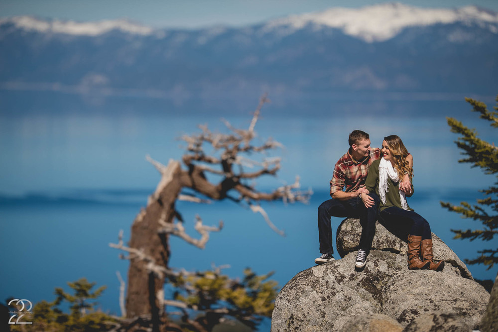 Lake Tahoe Engagement Photographers