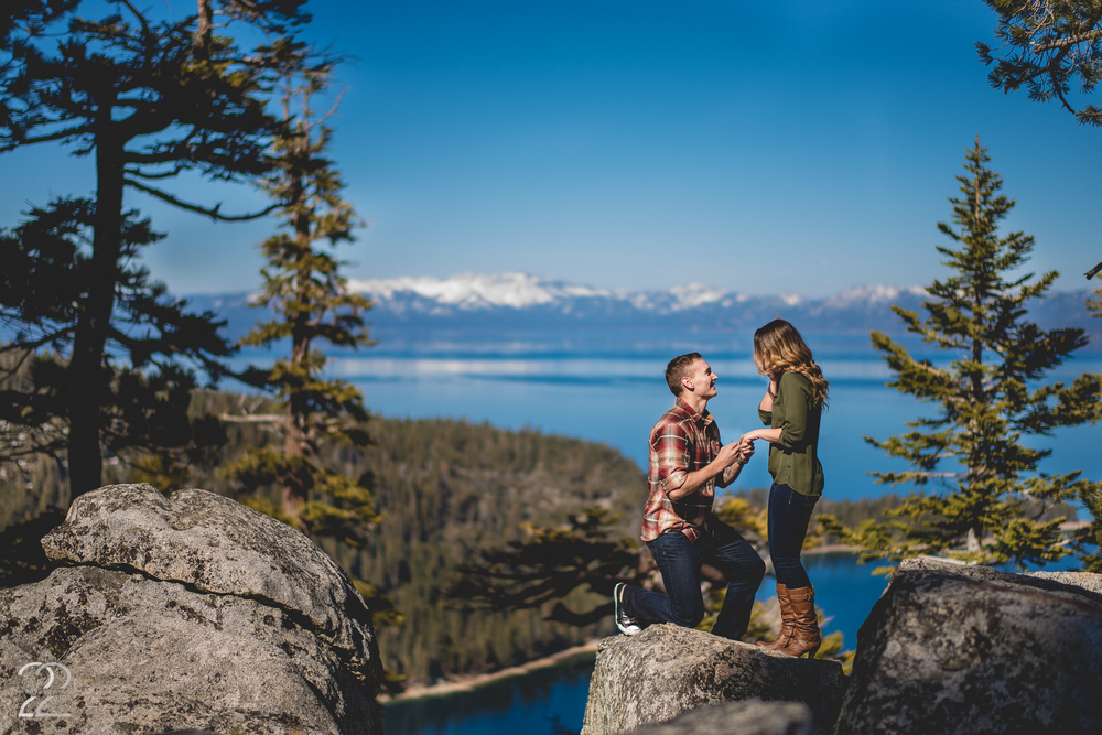 Luke Hayley Lake Tahoe Surprise Proposal Destination