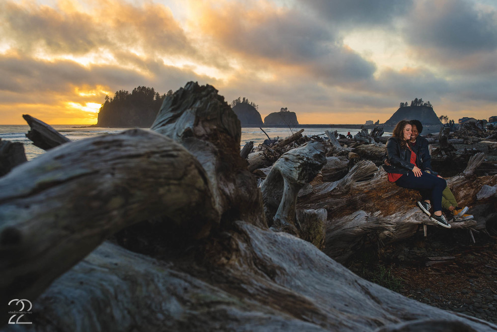 La Push Engagement Photographers
