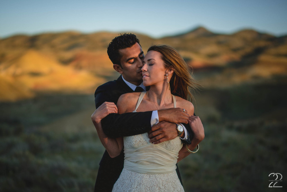 Painted Hills Oregon Wedding