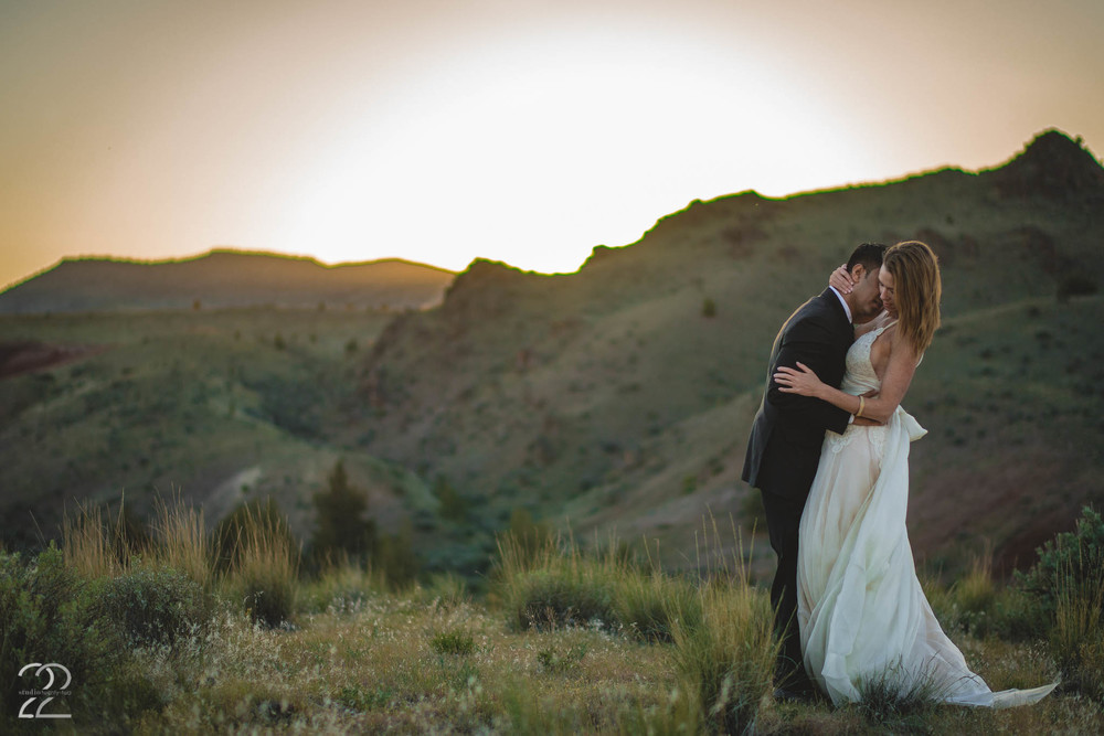 Painted Hills Wedding Oregon | Portland Wedding Photographer