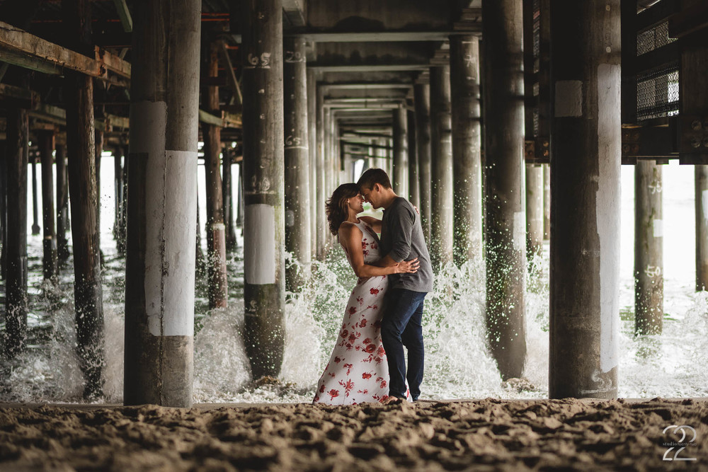 Santa Monica Pier Engagement Photography | Malibu Wedding Photographers | Southern California Wedding Photographers | Best Destination Wedding Photographers