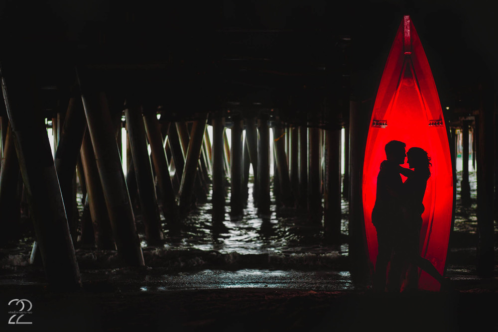 Santa Monica Pier Engagement | Malibu Wedding Photographers | Destination Wedding Photographers