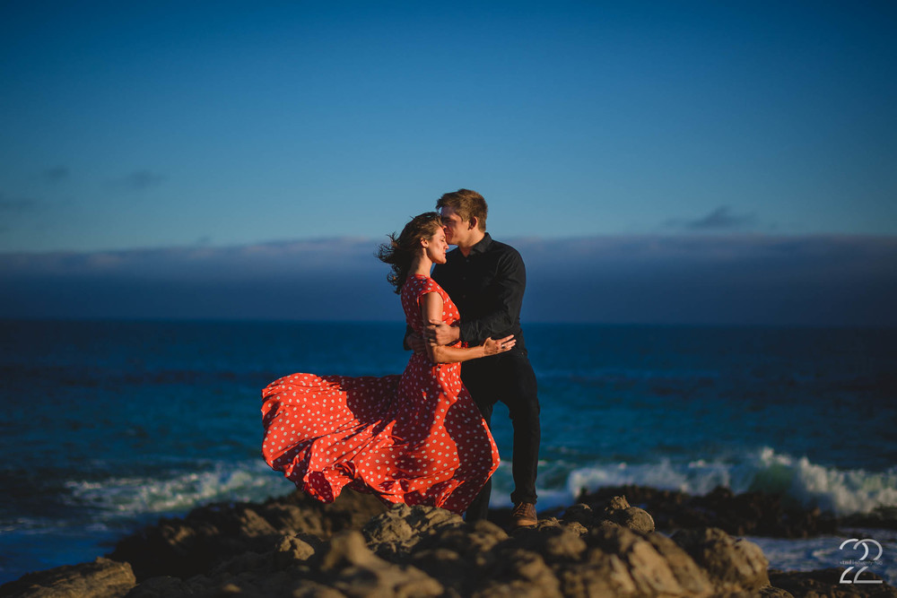 Leo Carrillo Beach | Sarah Brown Carter, Actress | Malibu Wedding Photographers | Malibu Engagement Photography | Best Destination Wedding Photographers
