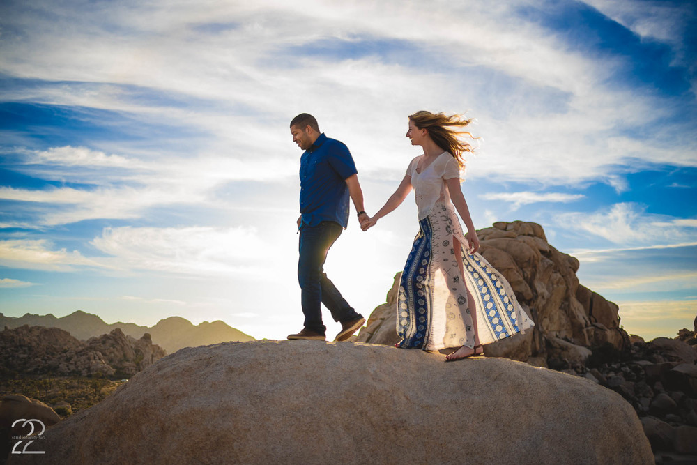 Joshua Tree Engagement Session | Los Angeles Wedding Photographer | Joshua Tree Weddings | Destination Wedding Photographer