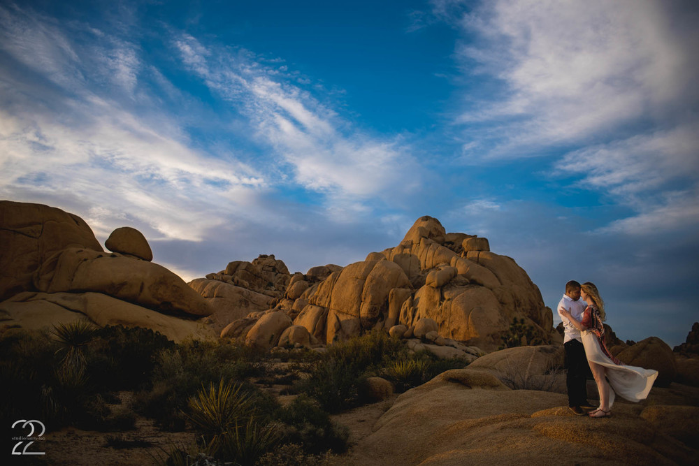 Joshua Tree Engagement Photography | Joshua Tree Weddings | Destination Wedding Photographers | Los Angeles Wedding Photographers