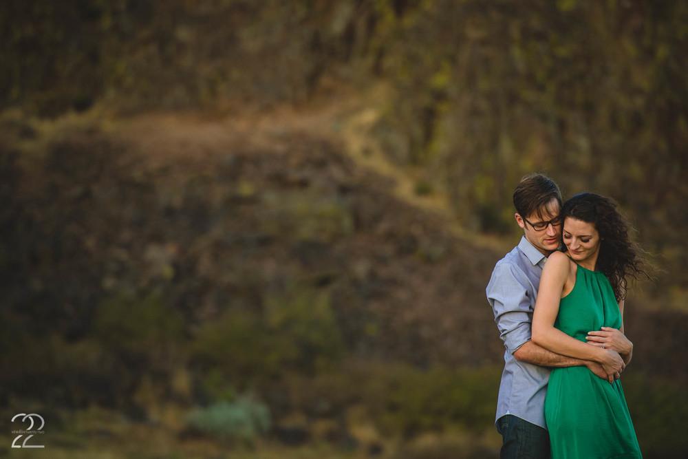 Horse Thief Butte Engagement | Portland Engagement Photo Ideas | Portland Wedding Photographers | Best Destination Wedding Photographers | Seattle Wedding Photographers