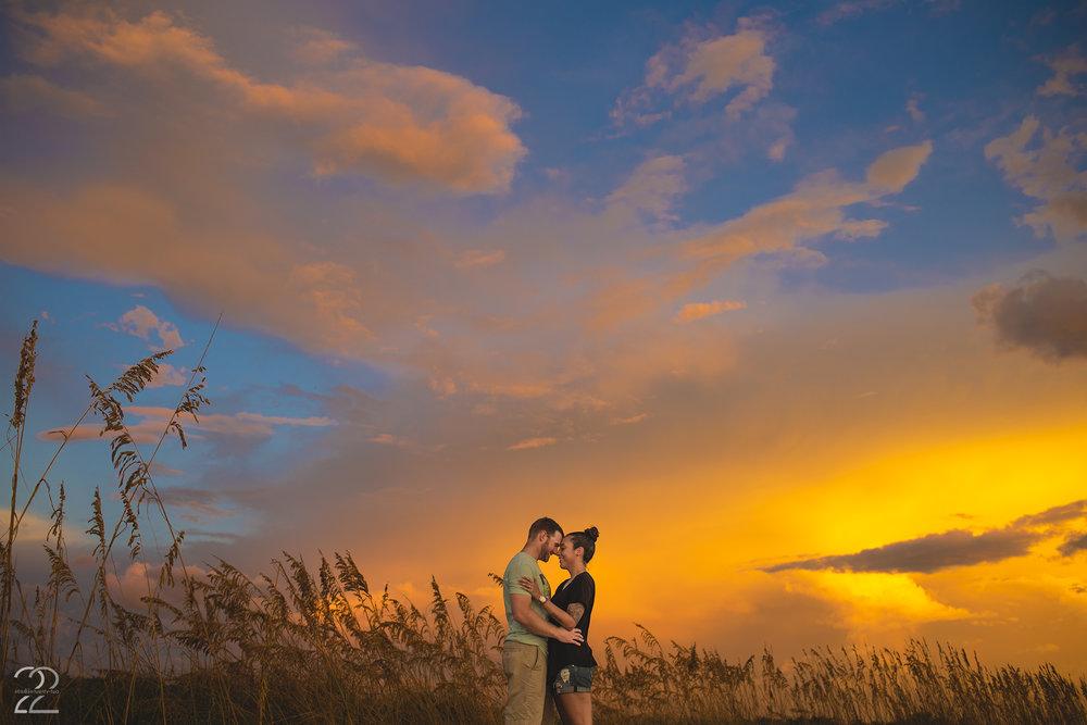 Sarasota Wedding Photographers | Surprise Engagement Photos | Sarasota Engagement Photos | Sunset Photos in Florida | Sarasota Wedding Photography | Best Wedding Photographers in Sarasota
