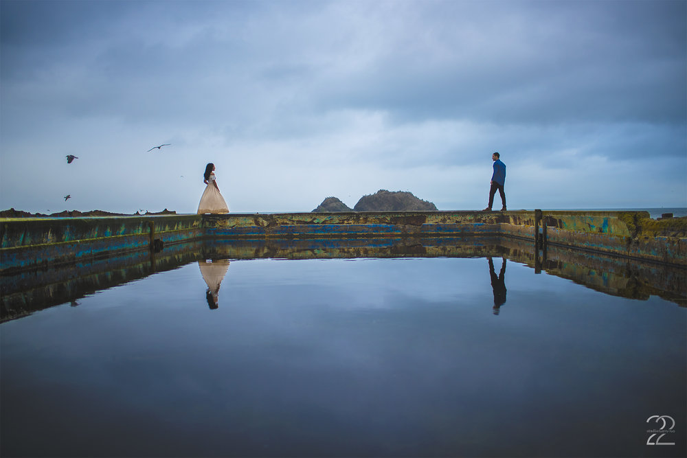 Sutro Baths Engagement | Sutro Baths Photos | San Francisco Engagement Photos | San Francisco Wedding Photographers | Engagement Photo Locations in San Francisco | Destination Wedding Photographers
