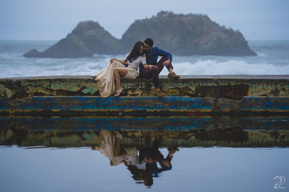 San Francisco Engagement Photos | Sutro Baths Engagement | Wedding Photographers in San Francisco | Destination Wedding Photographers