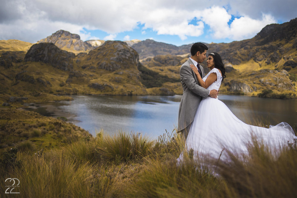 Cajas National Park Wedding | Bodas de Ecuador | Wedding Photographers in Ecuador | Destination Wedding Photographers | Ecuadorian Wedding