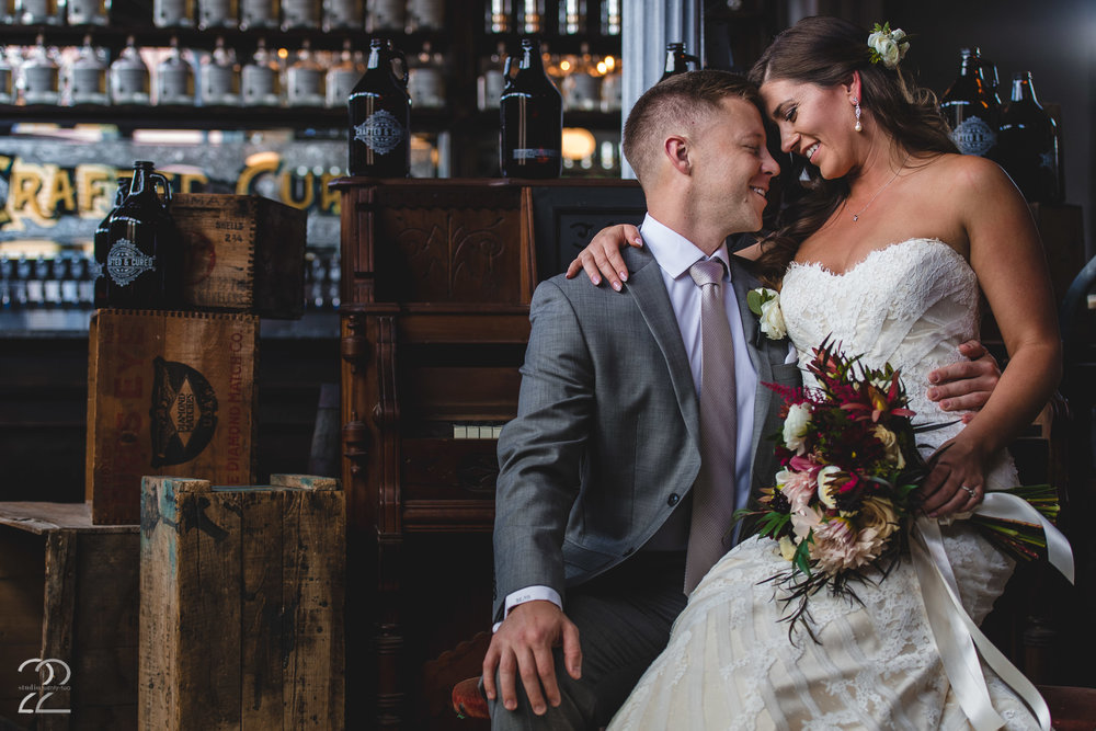 Crafted and Cured Dayton | Oregon District Wedding | Dayton Wedding Ideas | Wedding Photographers in Dayton | Best Columbus Wedding Photographers | Junebug Weddings | Sherwood Florist Bridal Bouquets | Backyard Wedding Ideas