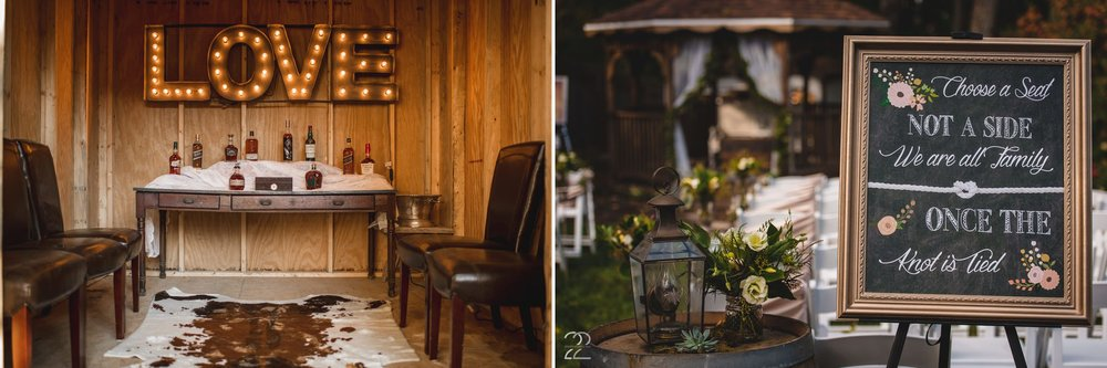 Backyard Wedding Inspiration | Bourbon Lounge Wedding | Lost & Found Vintage Rentals | Dayton Wedding Photographers