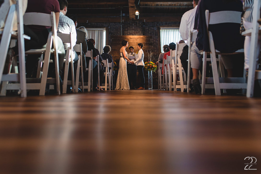 Weddings at Top of the Market | Best Wedding Venues in Dayton | Warehouse Weddings in Ohio | Dayton Wedding Photographers | LGBT Wedding Photographers | Same Sex Wedding Inspiration